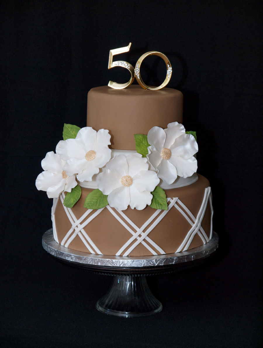 50th Anniversary Cake Cake Design Inspired By