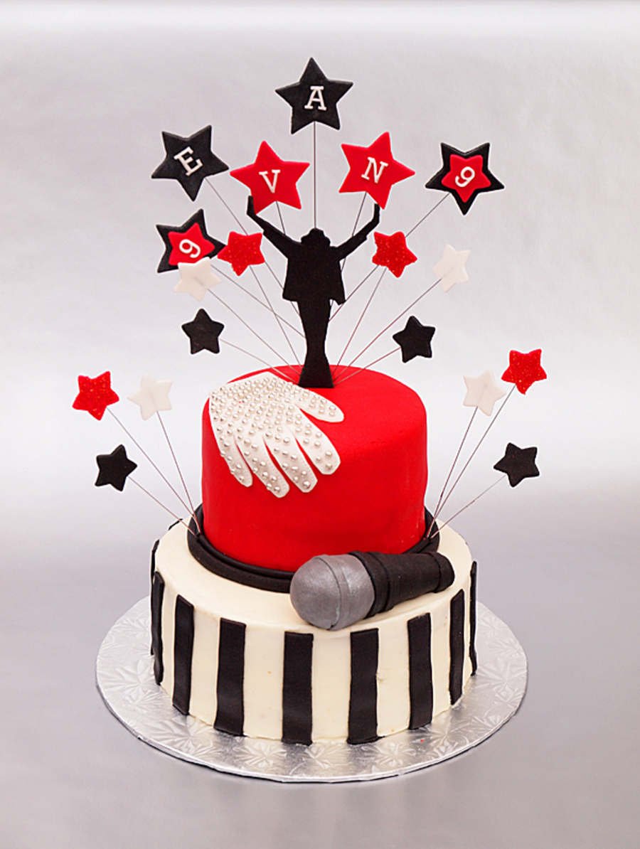 Michael Jackson Birthday Cake on Cake Central