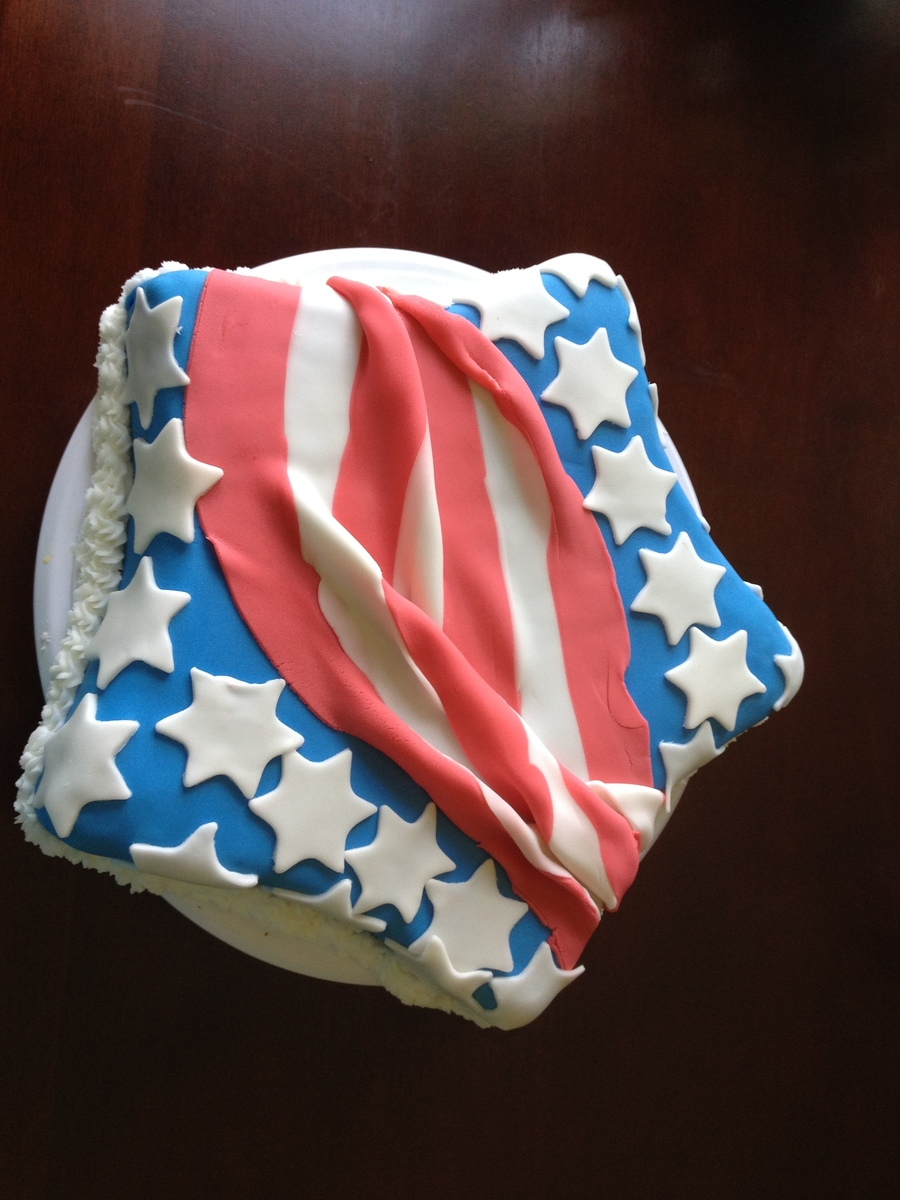 Stars And Stripes on Cake Central