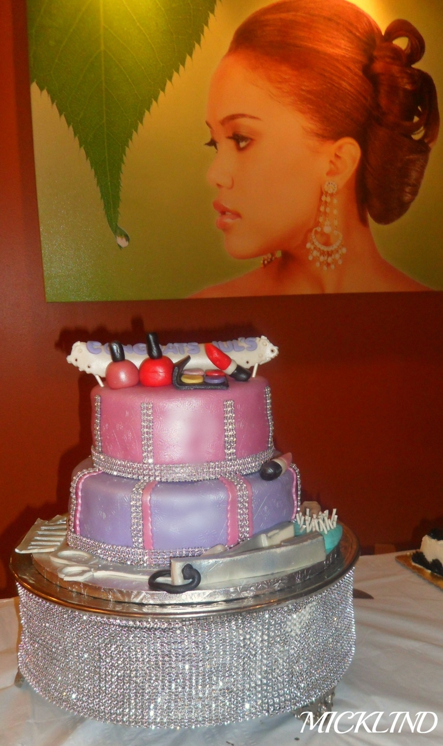 Hair Salon Themed Cake Cakecentral Com