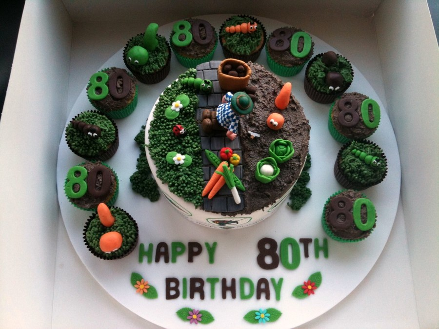 A Gardeners Cake on Cake Central