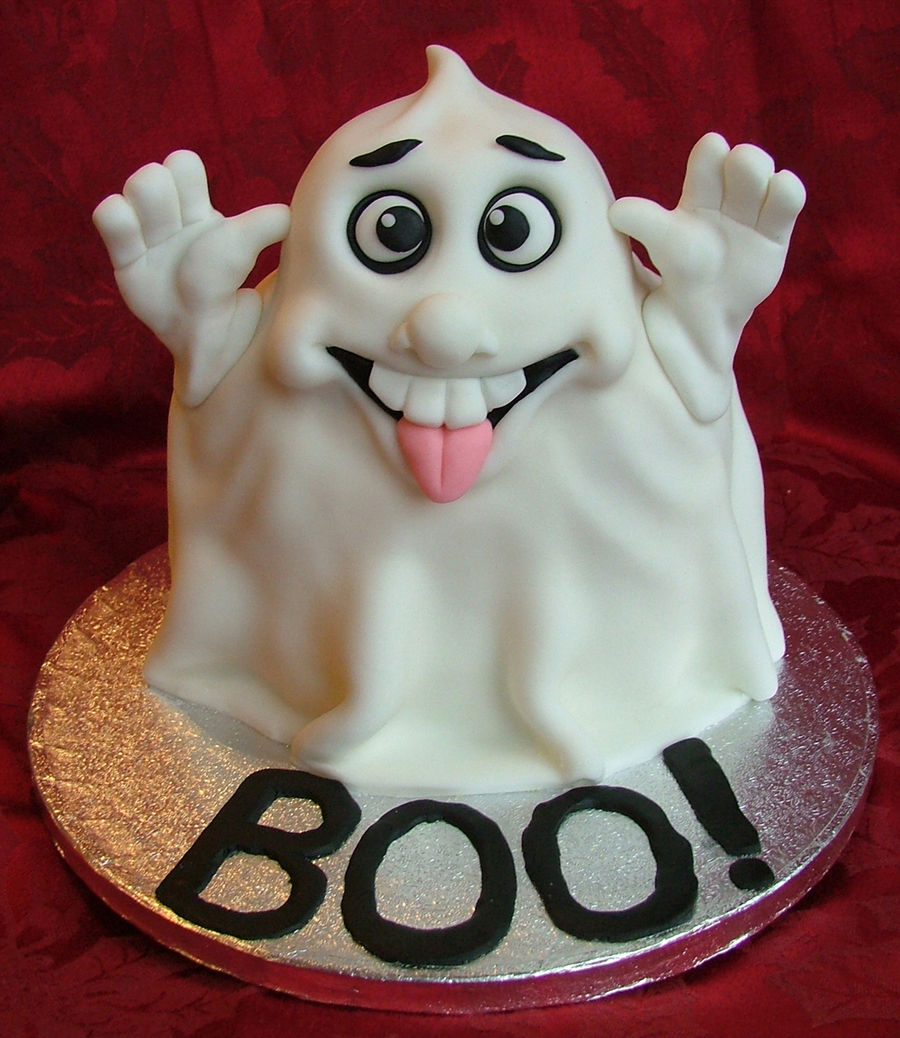 Ghost Cake Cakecentral Com