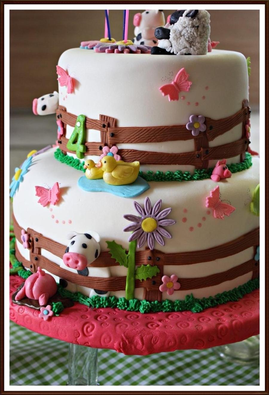 Animal Farm Theme Cake Cakecentral Com