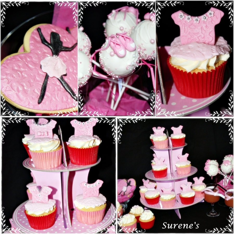 Ballerina Fun  on Cake Central