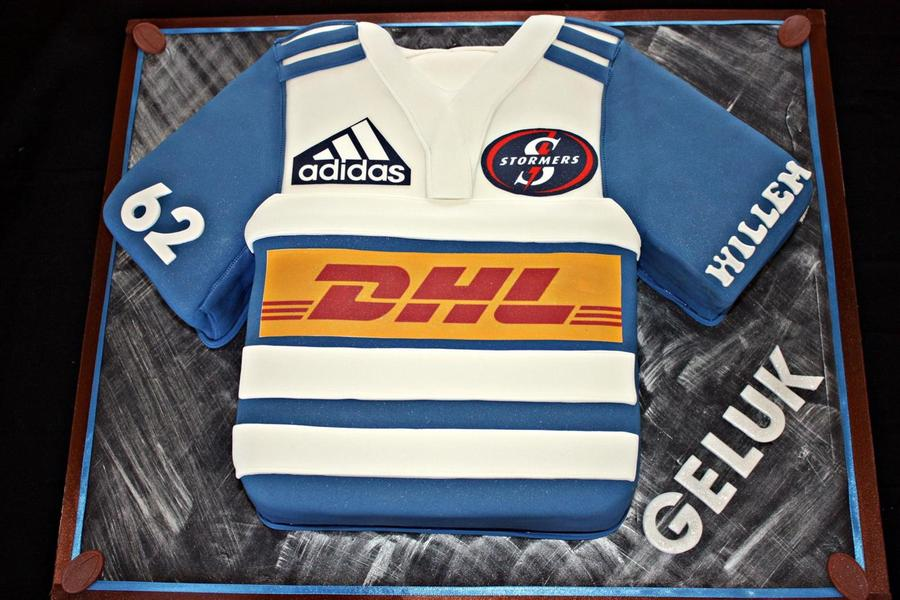 Stormers Rugby Jersey on Cake Central