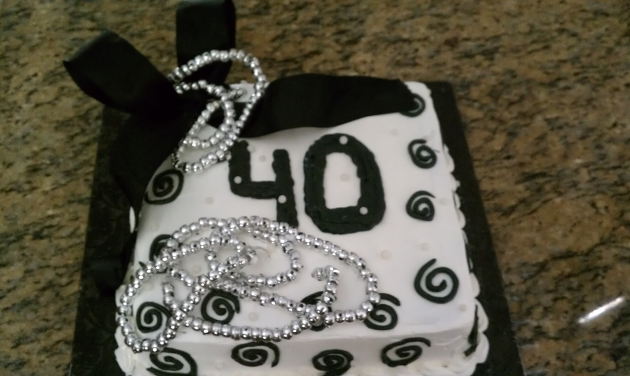 40Th Bday on Cake Central