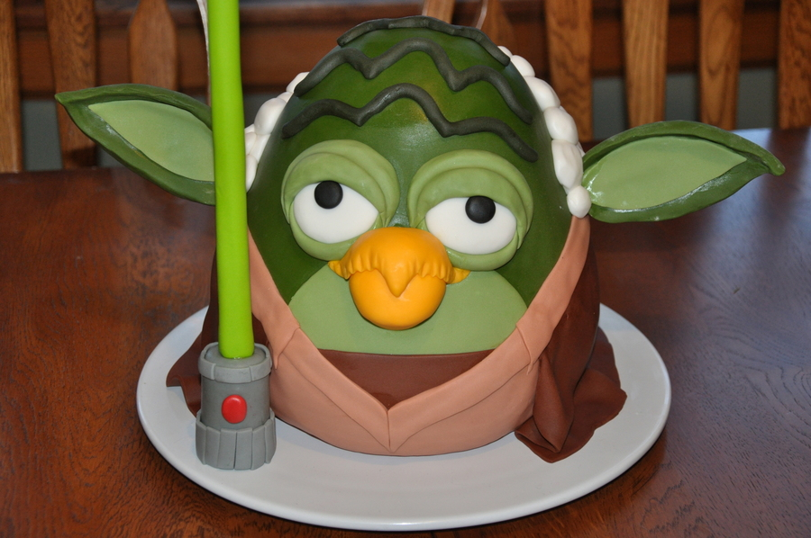 Yoda Angry Bird Star Wars on Cake Central