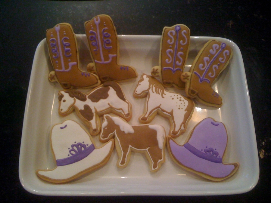 Western Themed Cookies on Cake Central