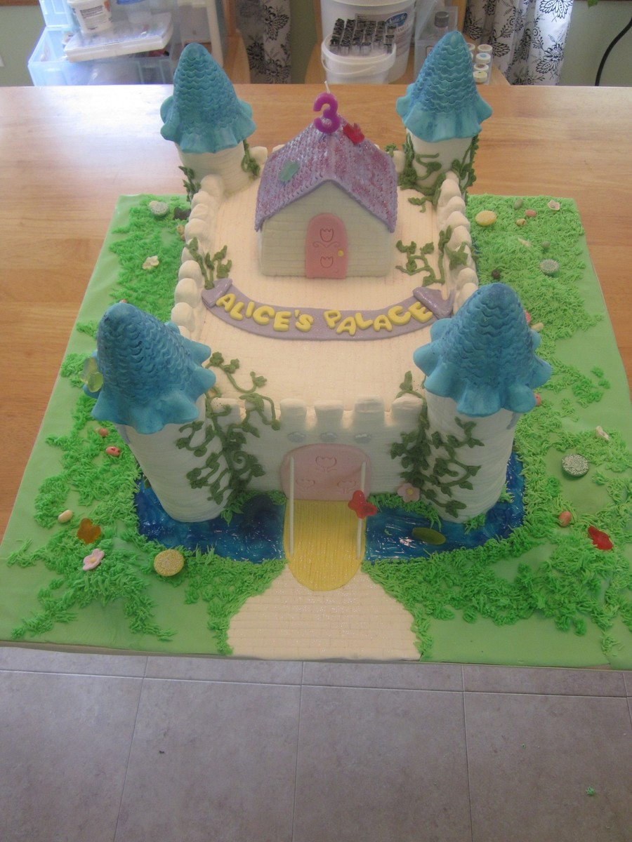 Fairy Castle on Cake Central