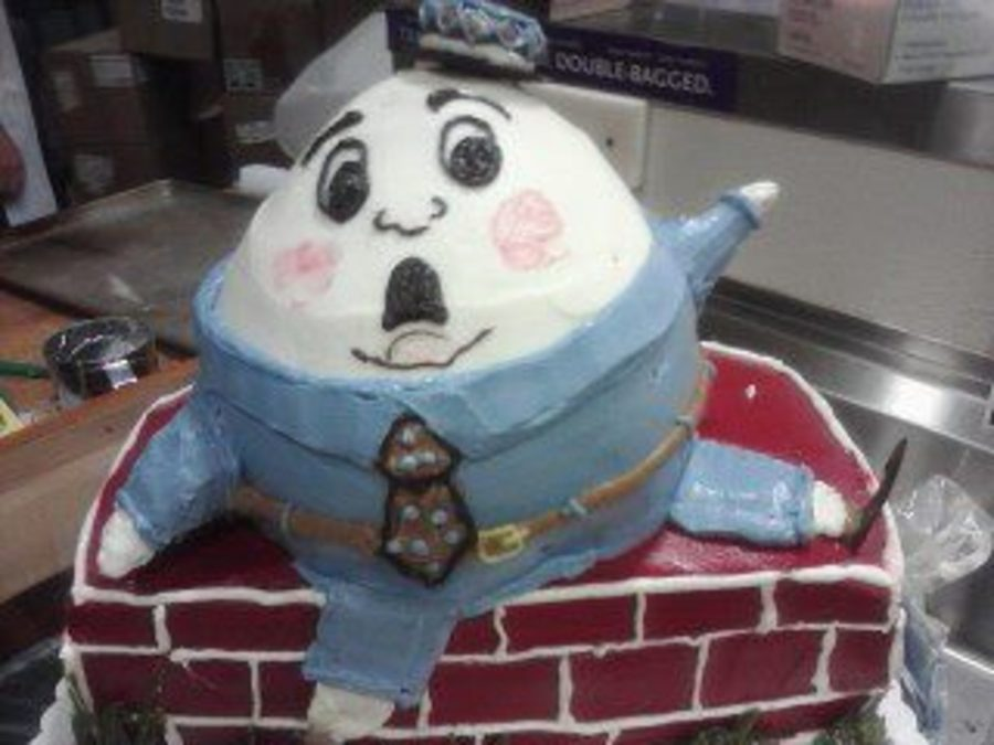 Falling Humpty on Cake Central