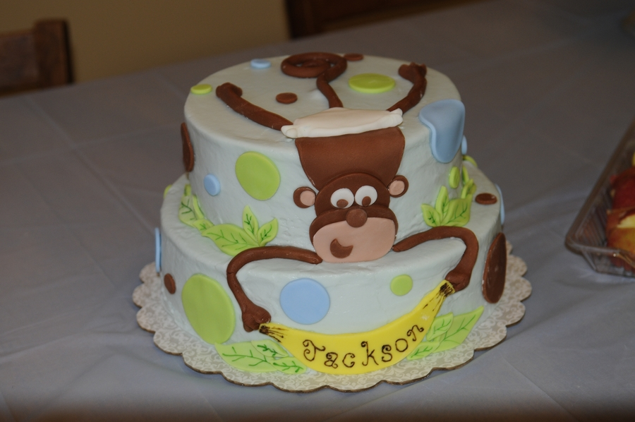 Baby Monkey on Cake Central