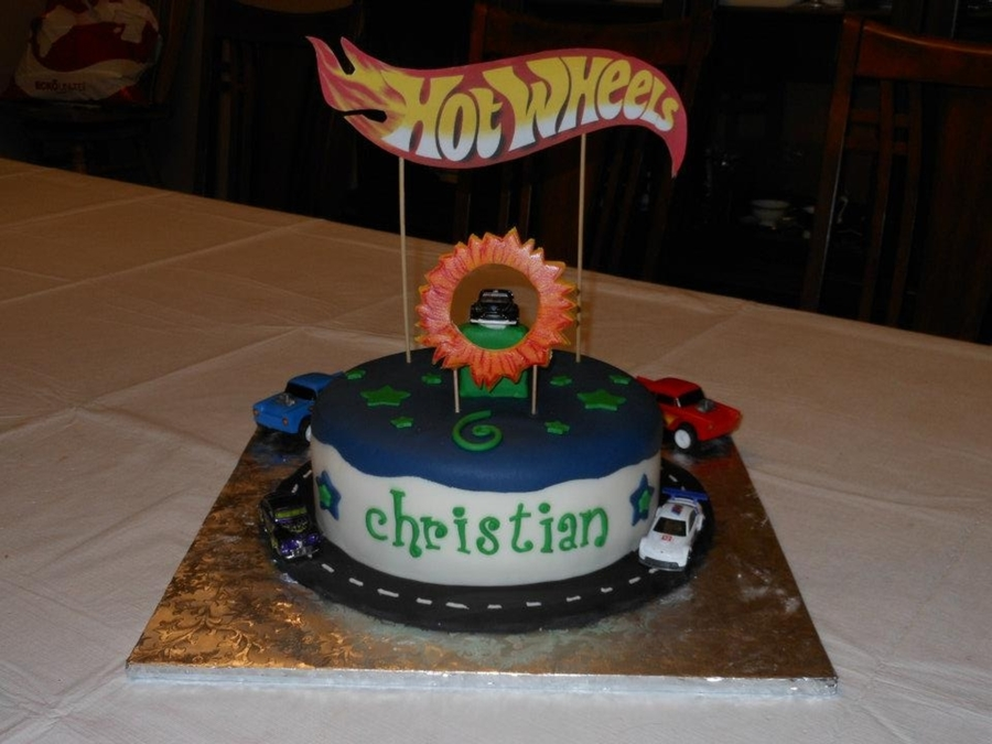 Hot Wheels Cake on Cake Central