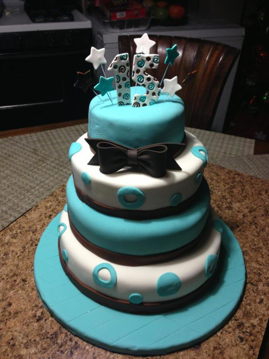 My Daughter's Quinceanera Cake  on Cake Central