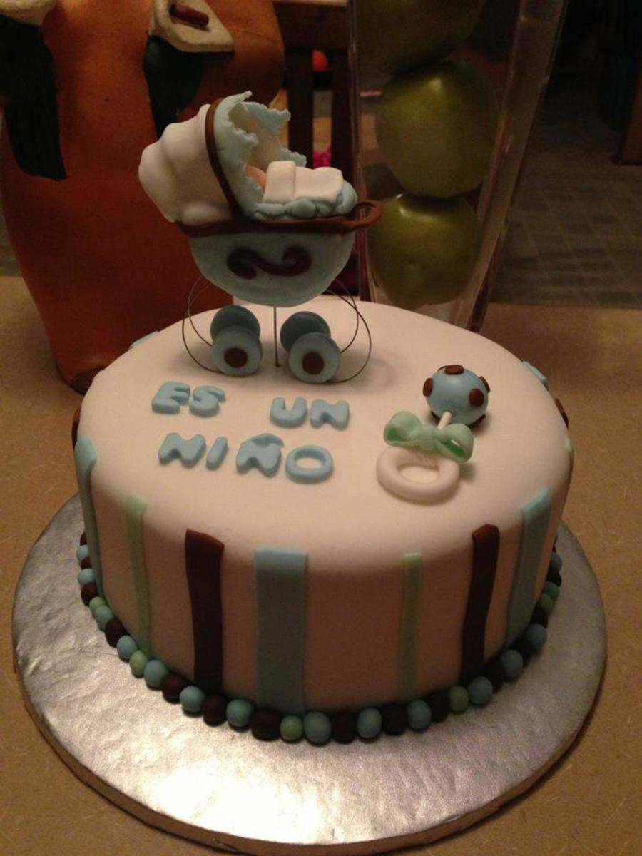 My First Baby Shower Cake on Cake Central