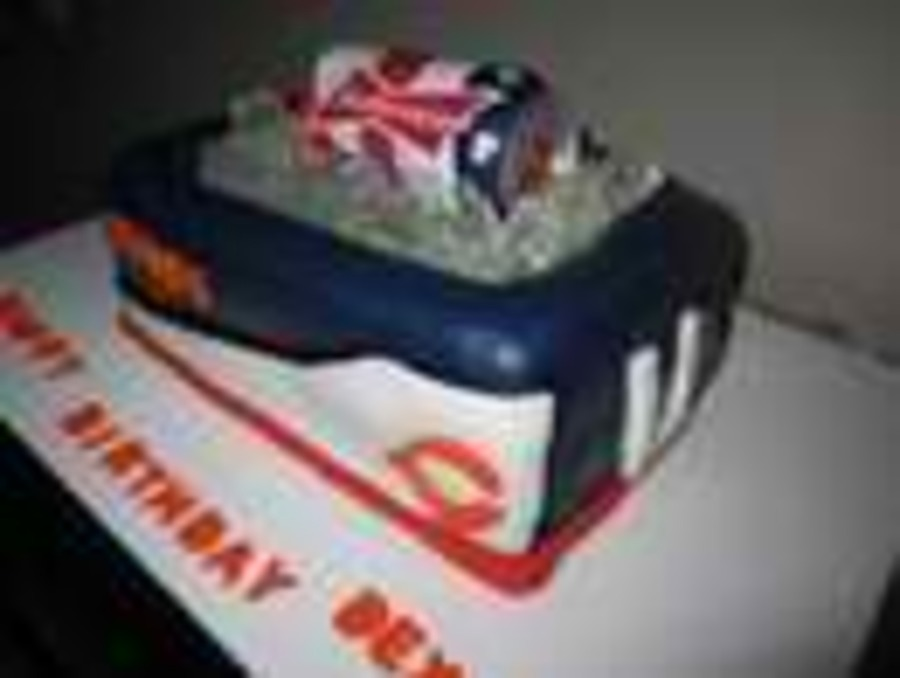 Chicago Bears Beer Cooler Cake on Cake Central