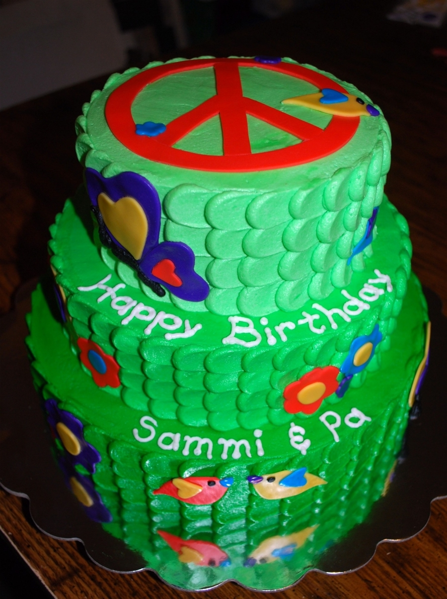 Peace Theme Cake Cakecentral