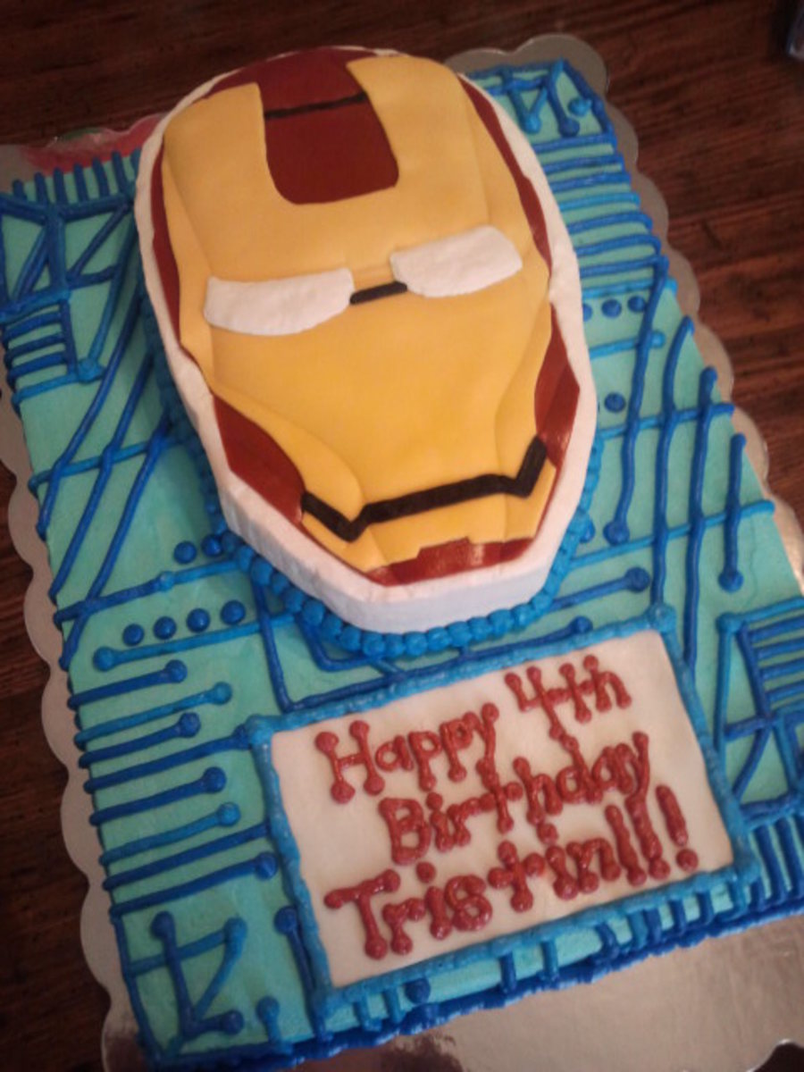 Iron Man on Cake Central