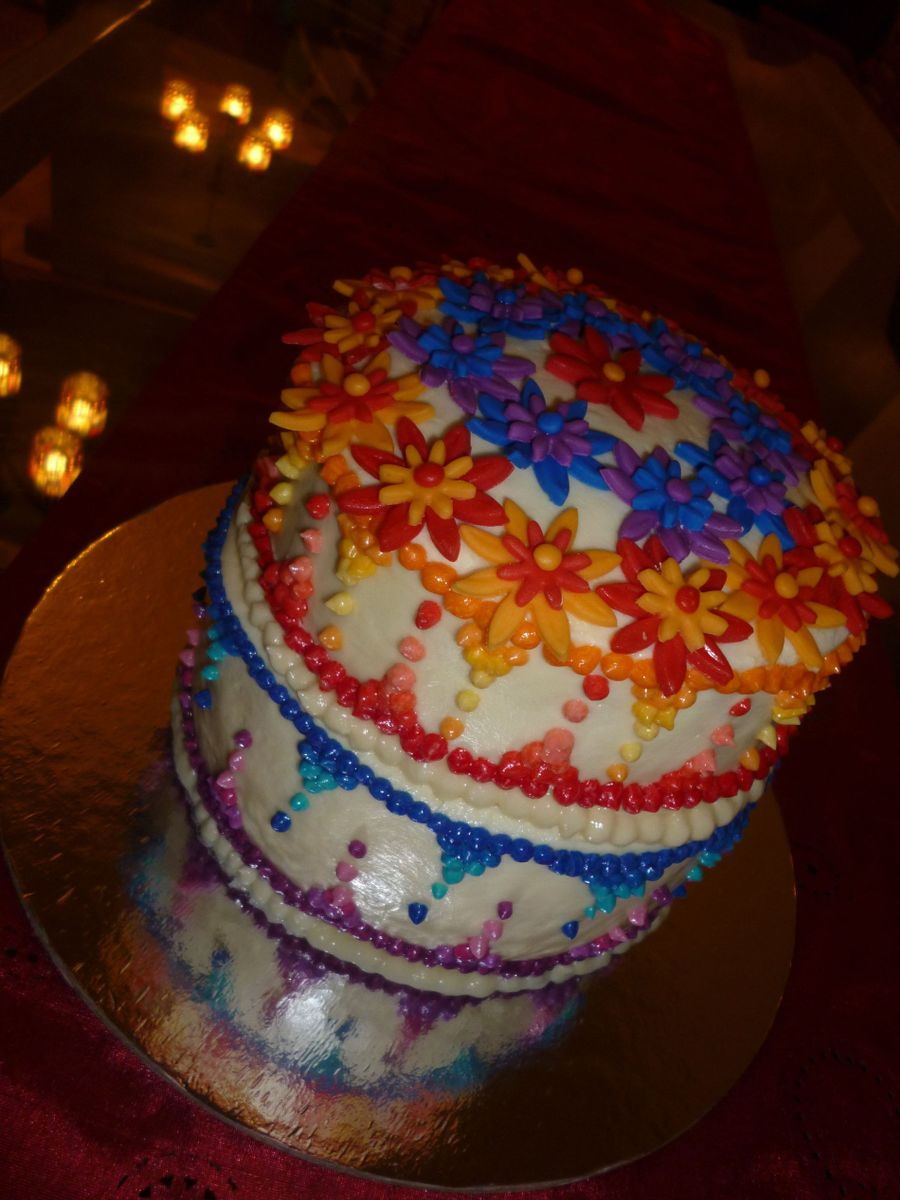 Colors Of Happines on Cake Central