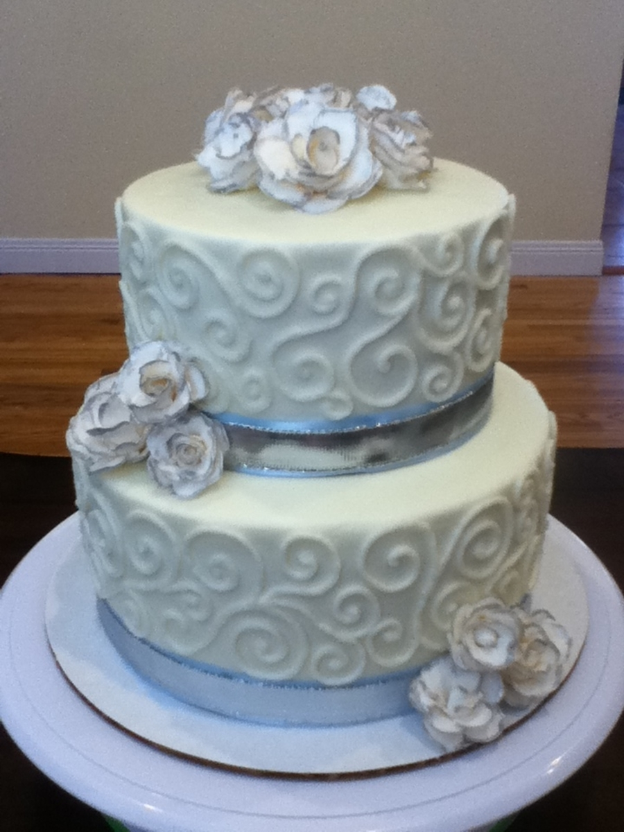 Bridal Shower Cake on Cake Central