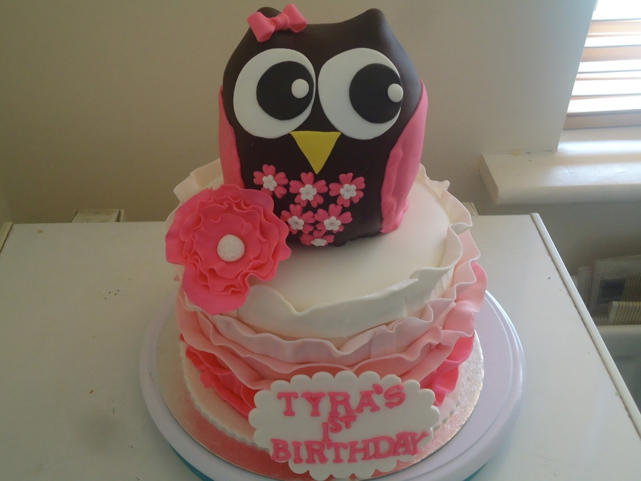An Owl Cake on Cake Central