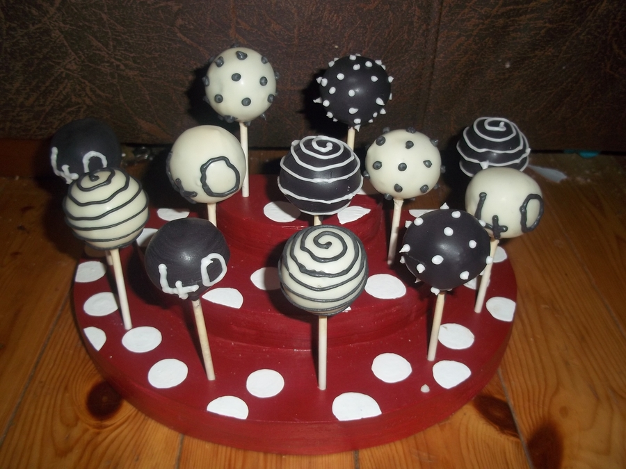 Remarkable 40Th Birthday Cake Pops Cakecentral Com Funny Birthday Cards Online Fluifree Goldxyz