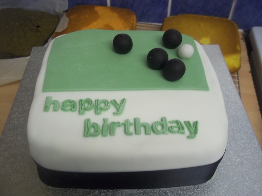 Crown Green Bowling Birthday Cake on Cake Central