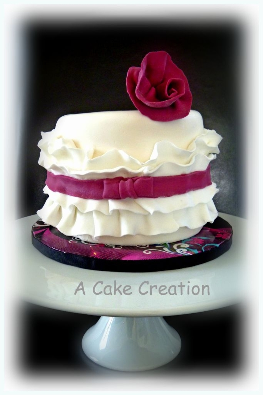 Vintage Couture on Cake Central