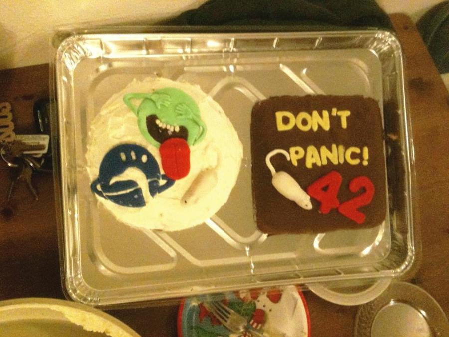 42nd Birthday Hitchhiker S Guide To The Galaxy Theme