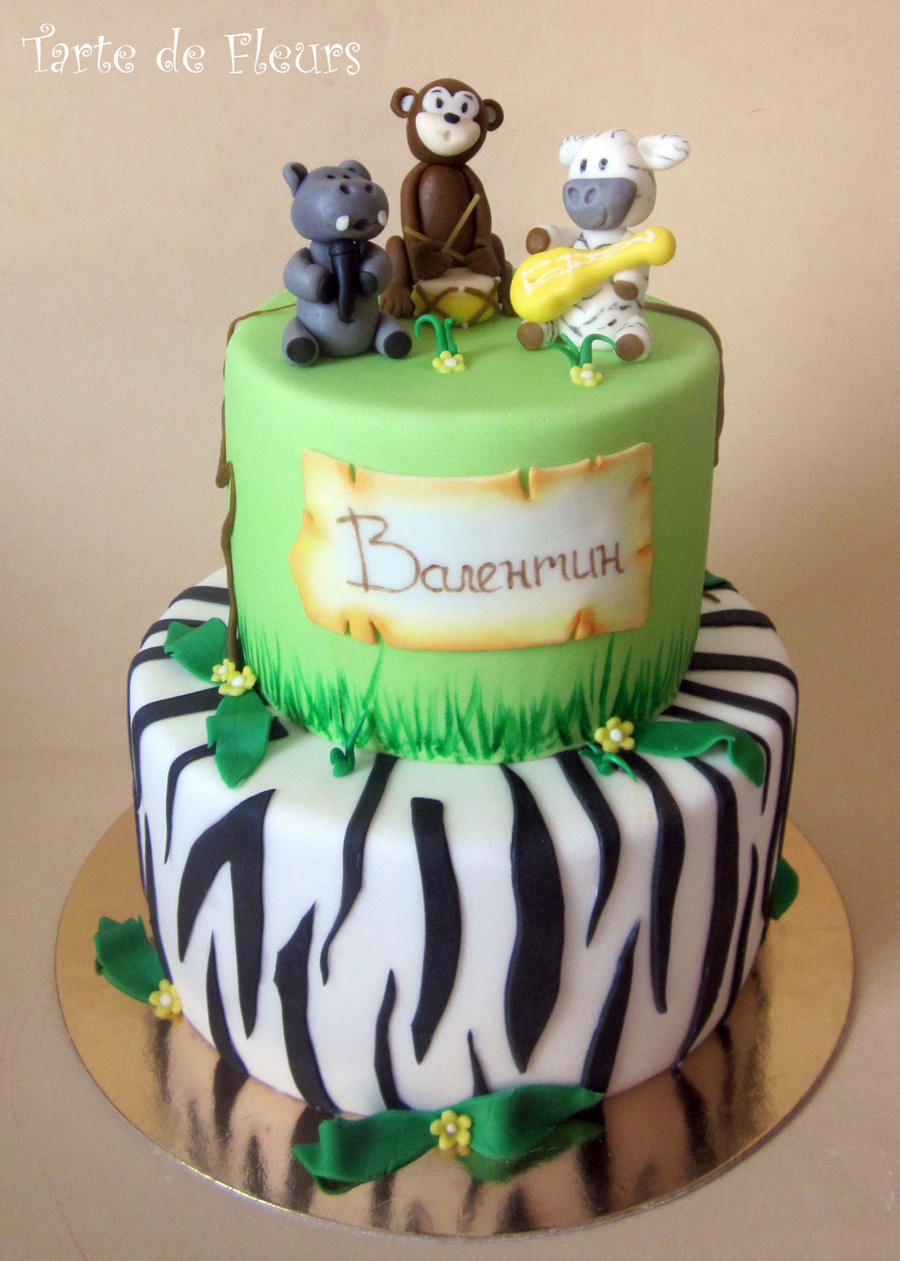 Jungle Band Cake on Cake Central