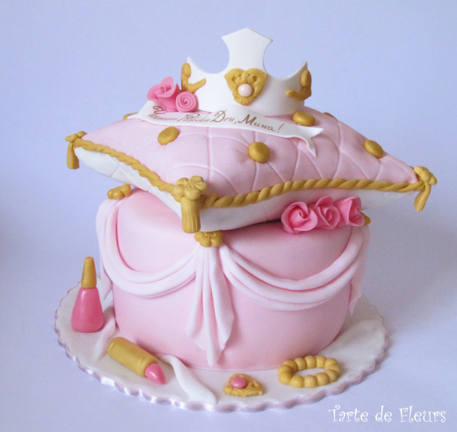 Princess Pillow Cake - CakeCentral.com