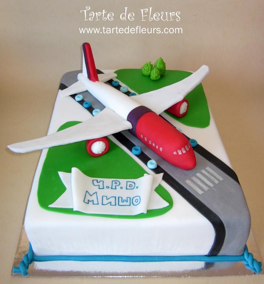 Airplane Cake CakeCentralcom