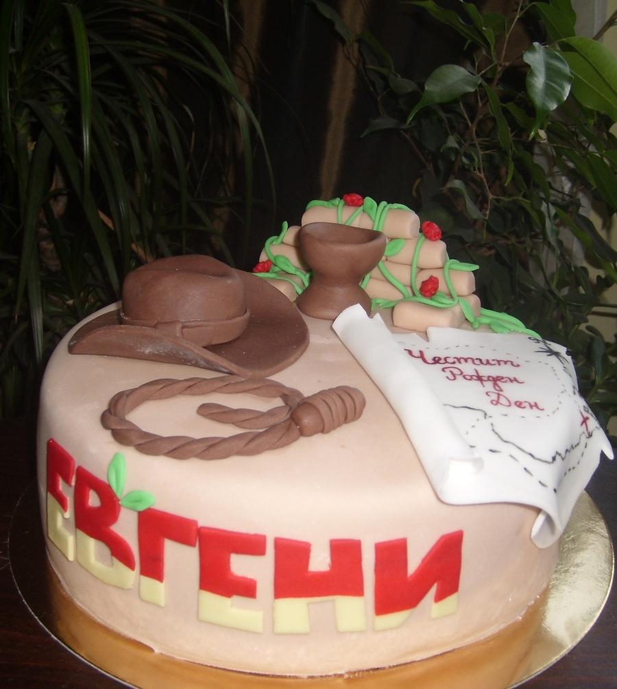Cool Indiana Jones Cake Cakecentral Com Funny Birthday Cards Online Inifodamsfinfo