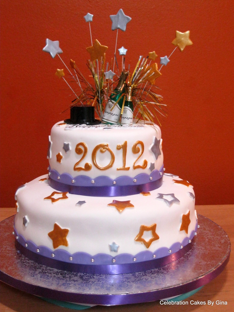 New Years 2012 on Cake Central