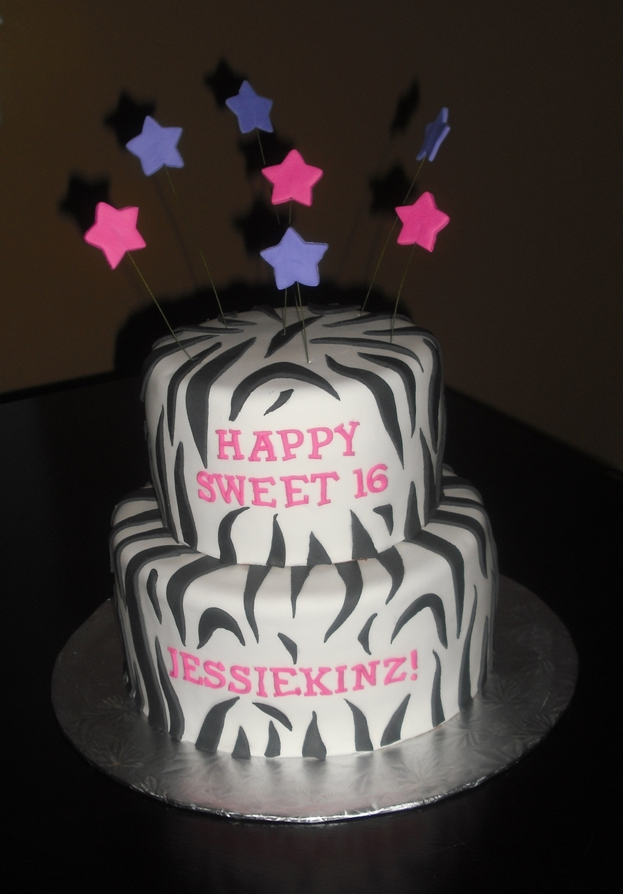 Peachy Sweet 16 Birthday Cake Cakecentral Com Funny Birthday Cards Online Aeocydamsfinfo