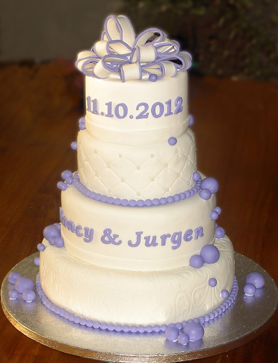Weddingcake on Cake Central