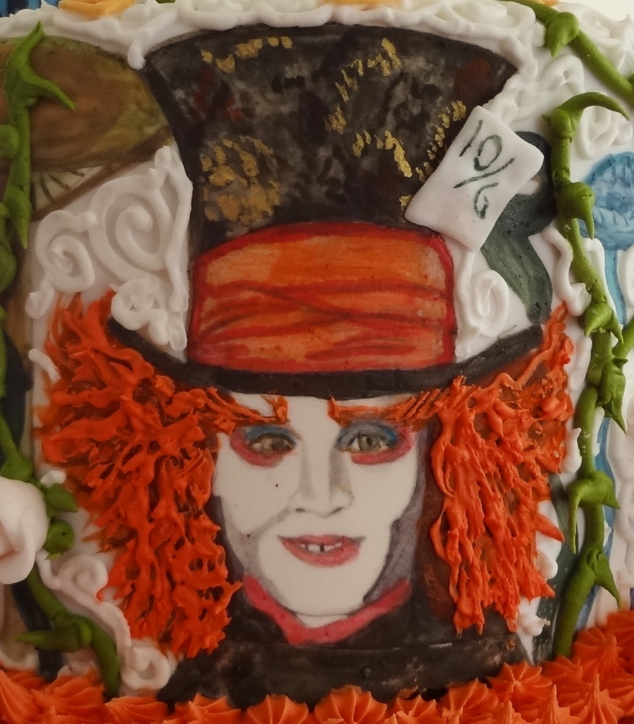 how to make a mad hatter cake