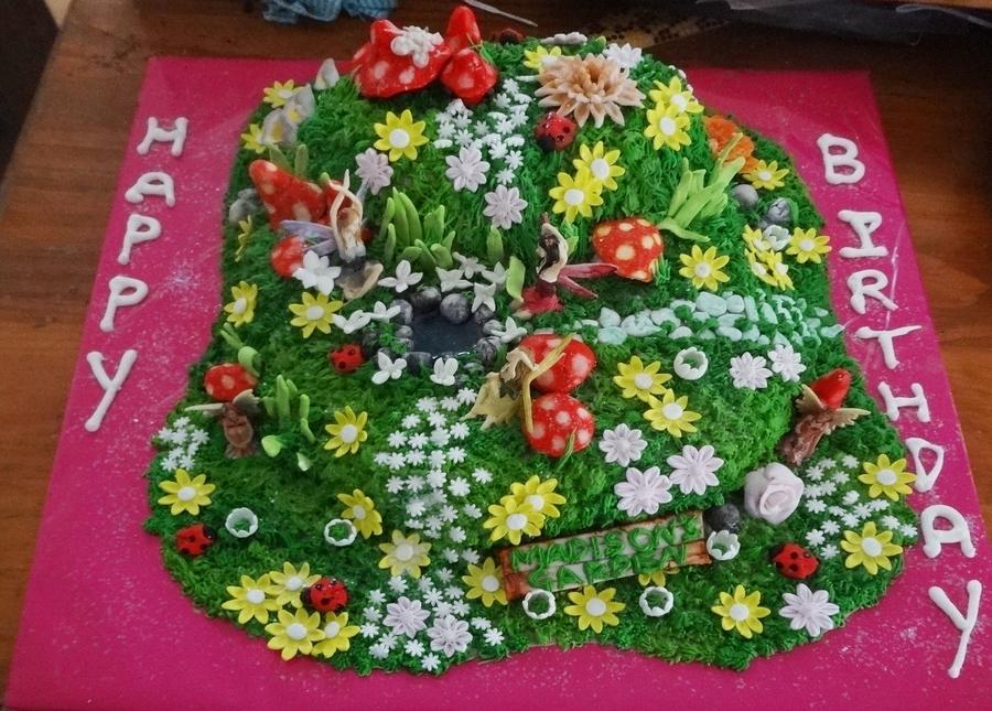 Recipe For Fantasy Flower Cake