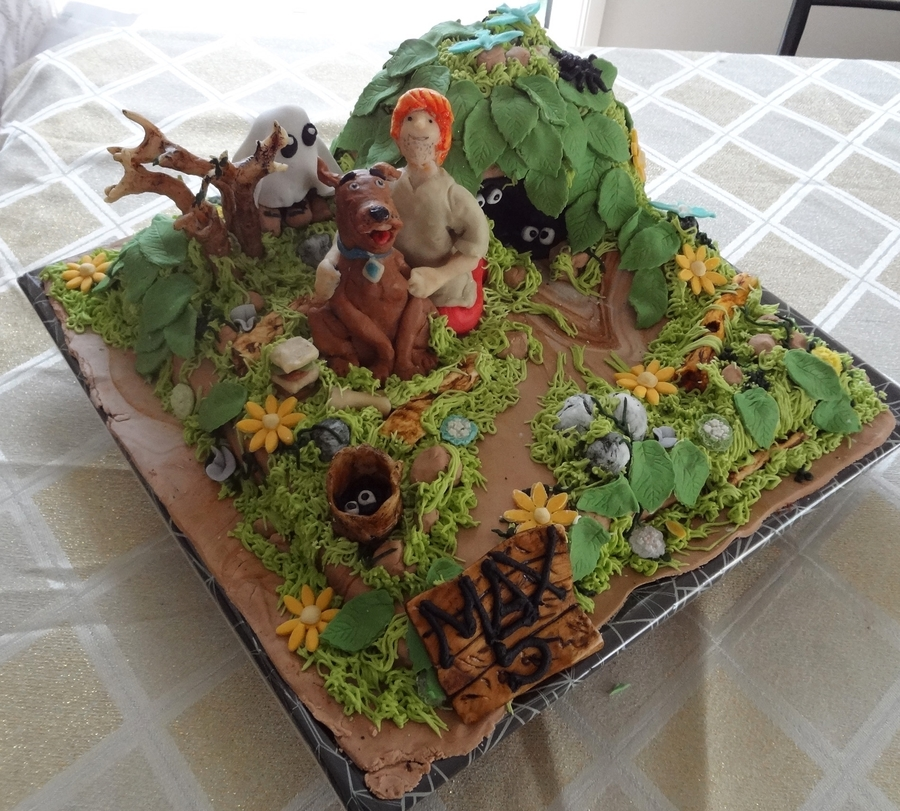 Scooby Doo And Shaggy Cake on Cake Central