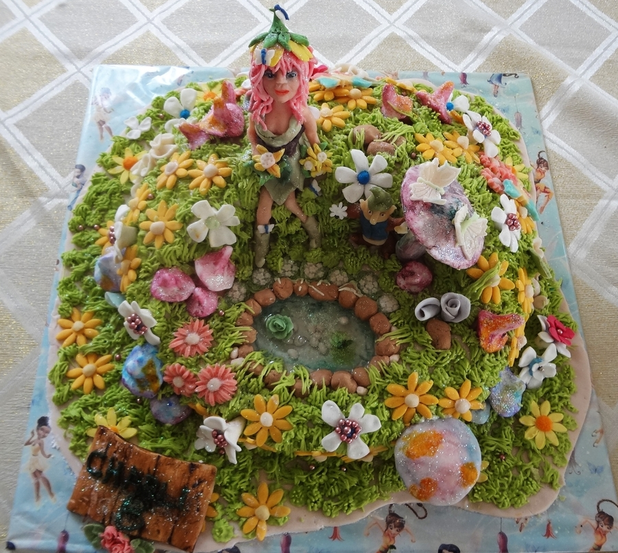 Faerie Cake on Cake Central