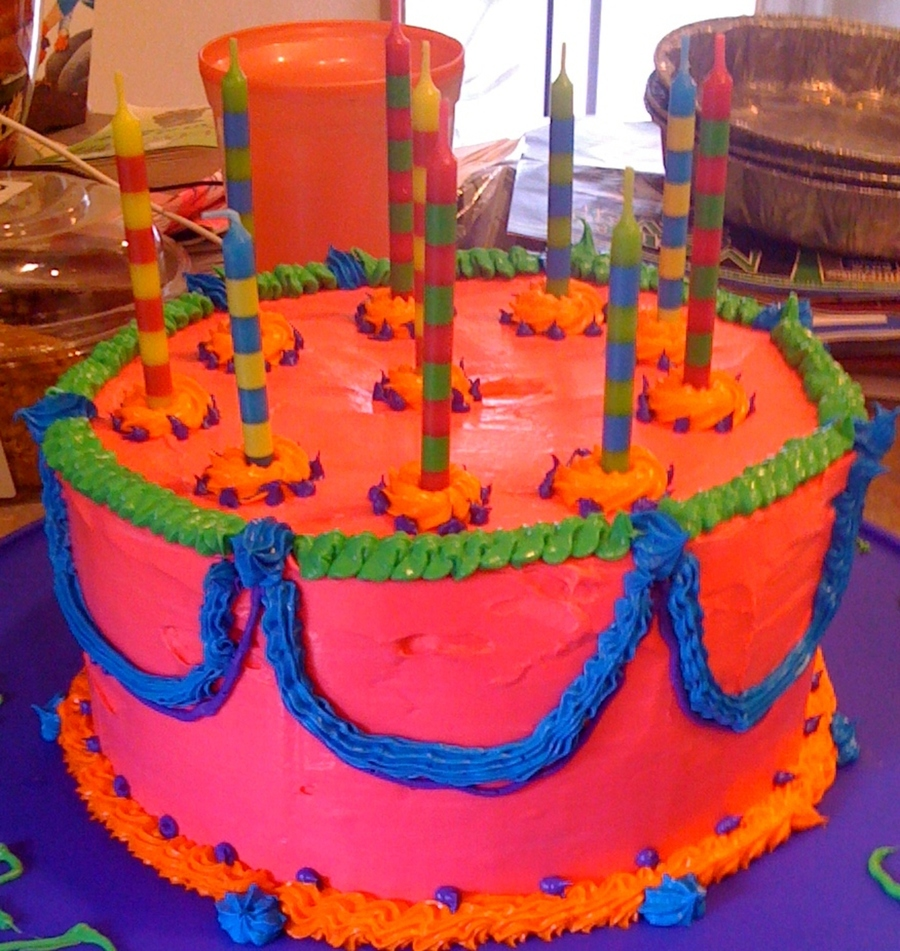 Color Me Crazy on Cake Central