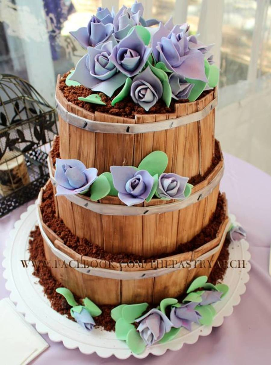 Barrel Cake Recipe