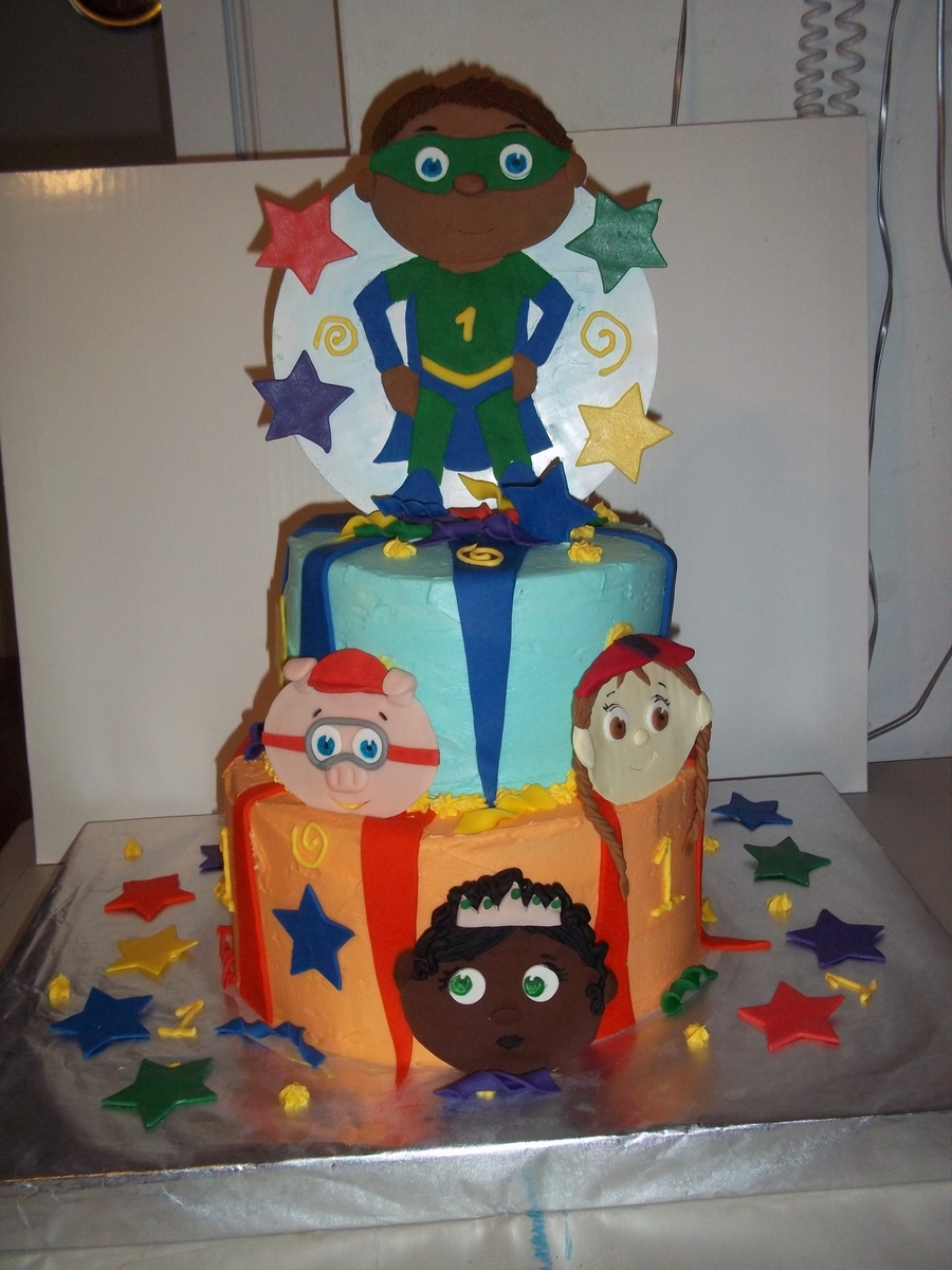 Super Why And The Super Readers on Cake Central