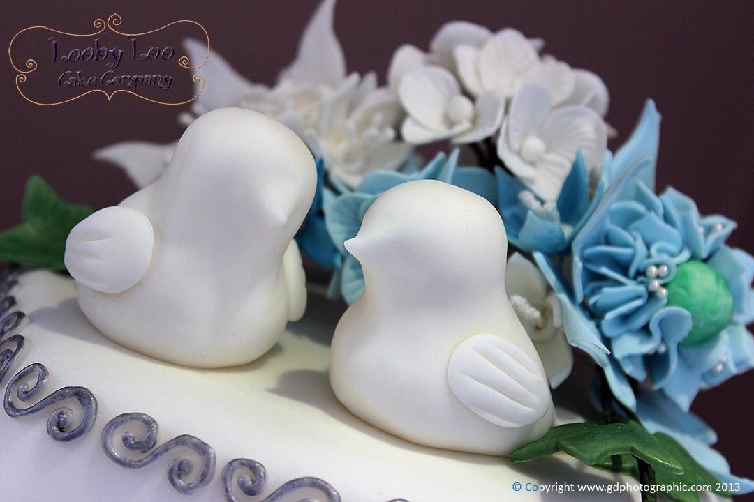 Love Bird Wedding Cake Cakecentral