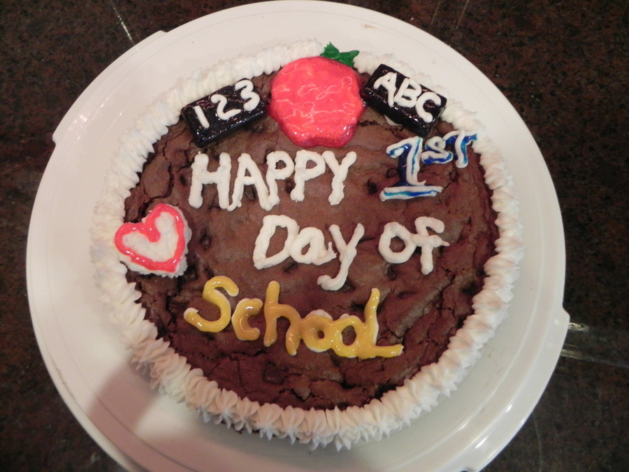 Happy 1St Day Of School on Cake Central
