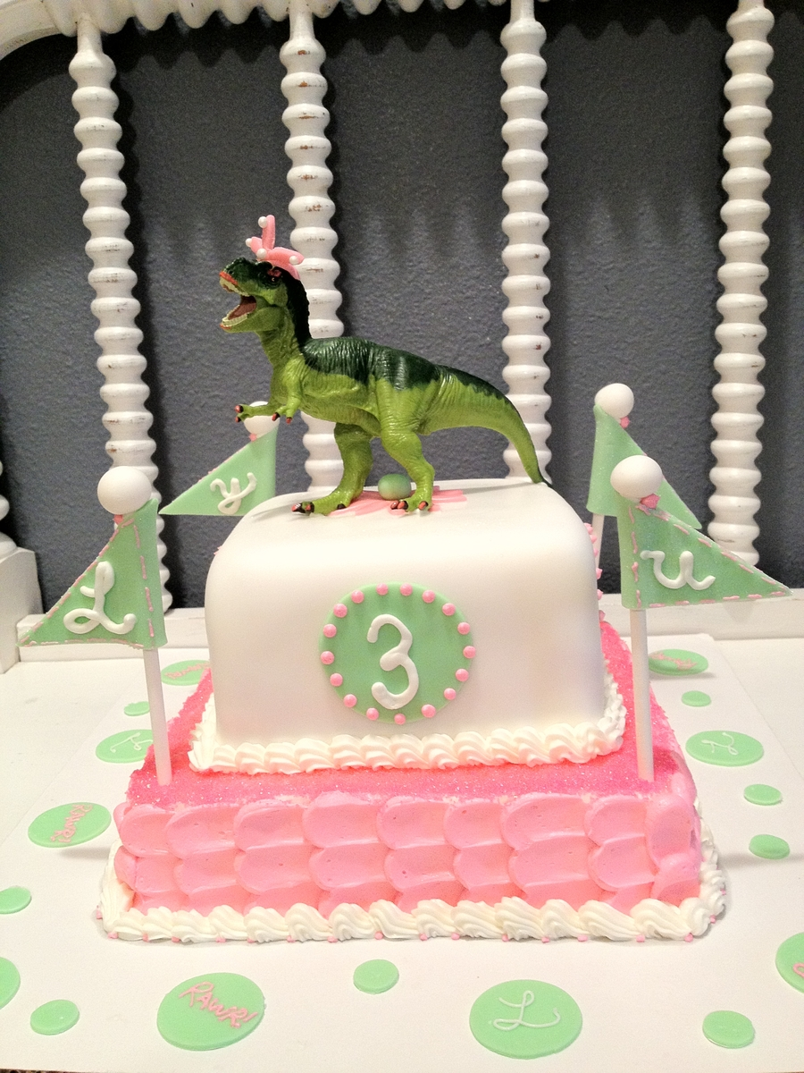 Dinosaur Princess Cake Cakecentral Com
