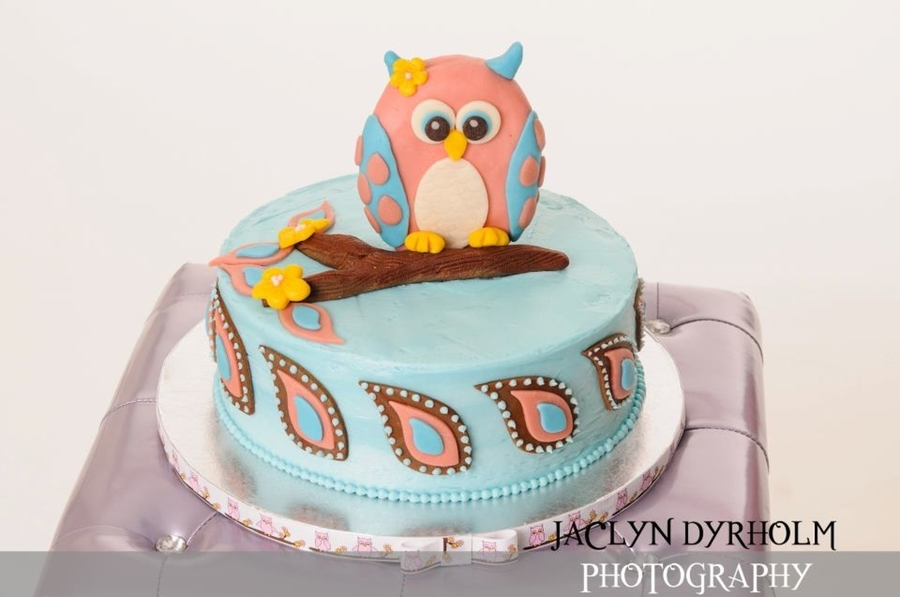 Owl Birthday on Cake Central