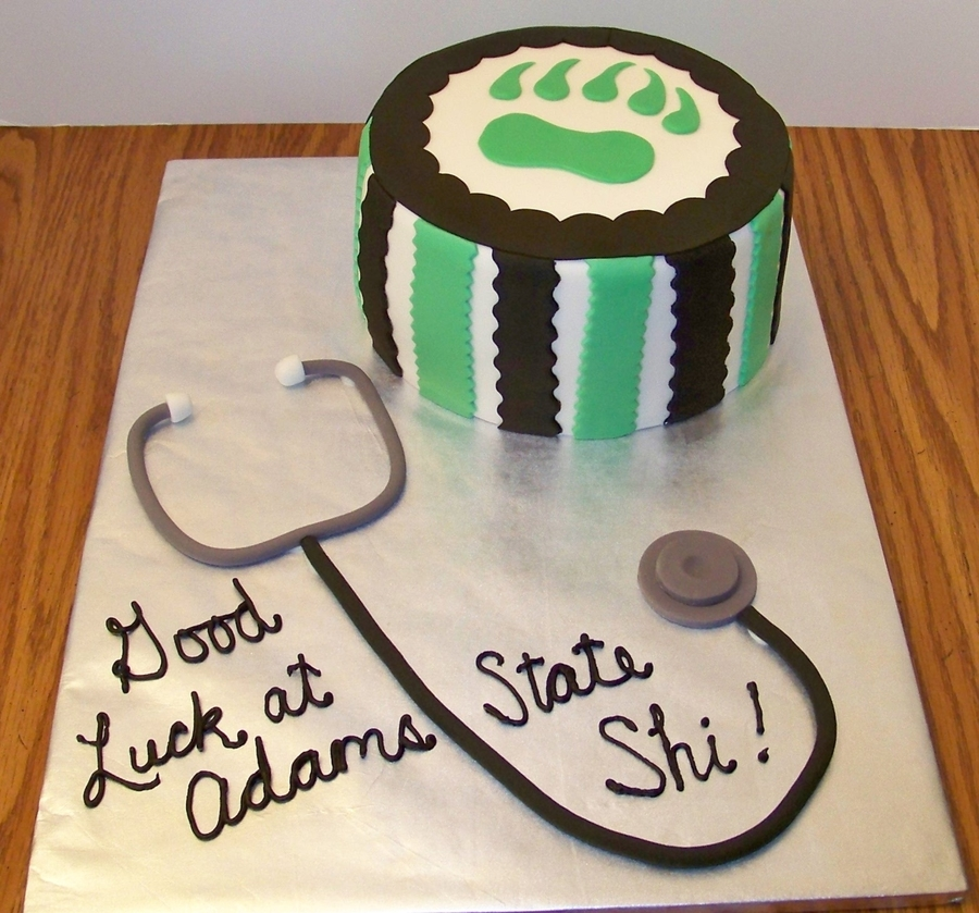 Good Luck At Adams State! on Cake Central
