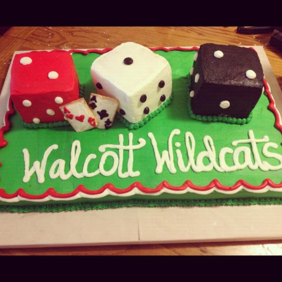 Casino Themed Cake on Cake Central