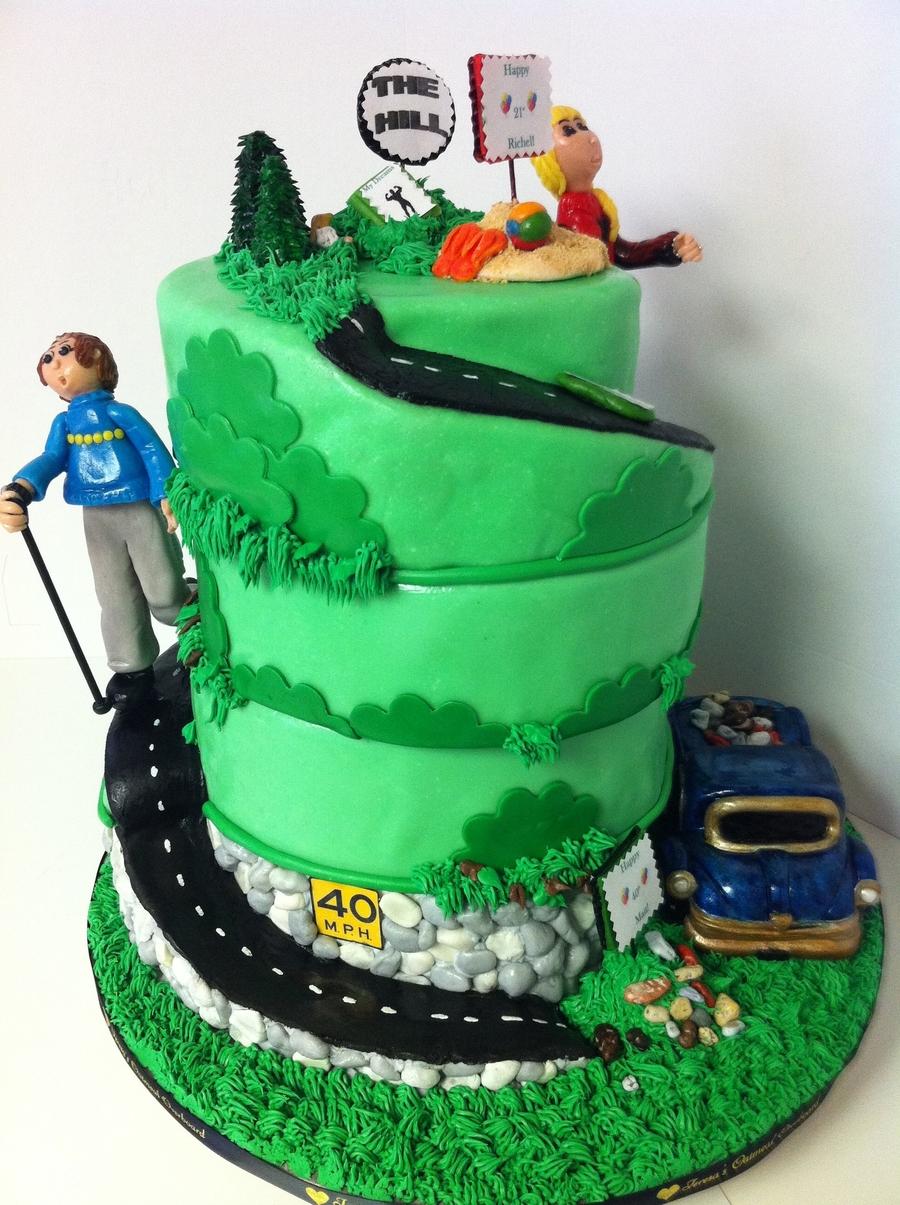 Funny Happy Birthday Matt Cake