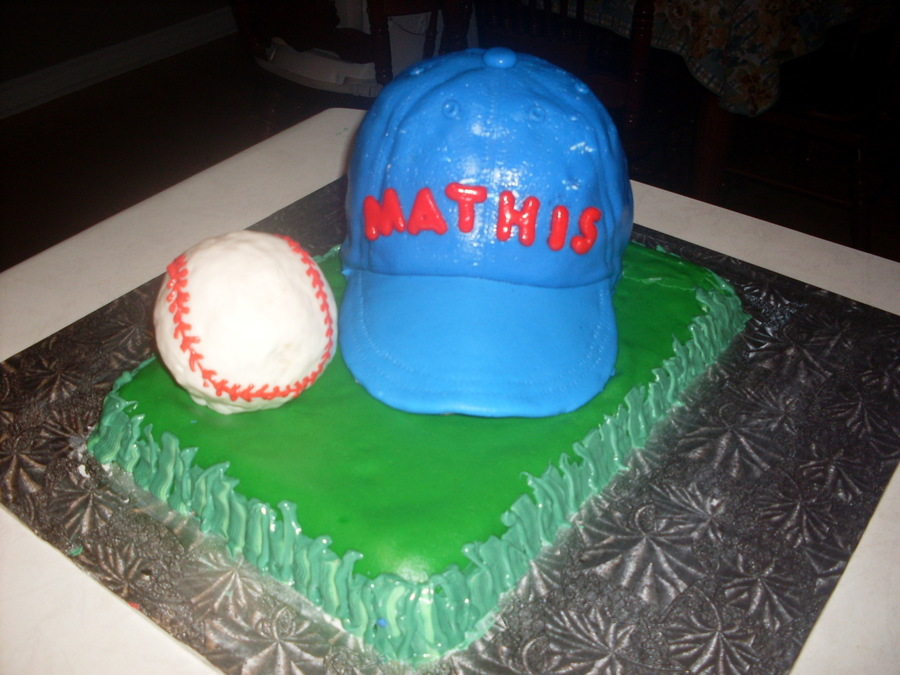 Baseball Hat on Cake Central